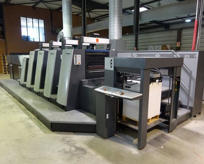 Heidelberg XL 75-4+LX2 - Year 2012