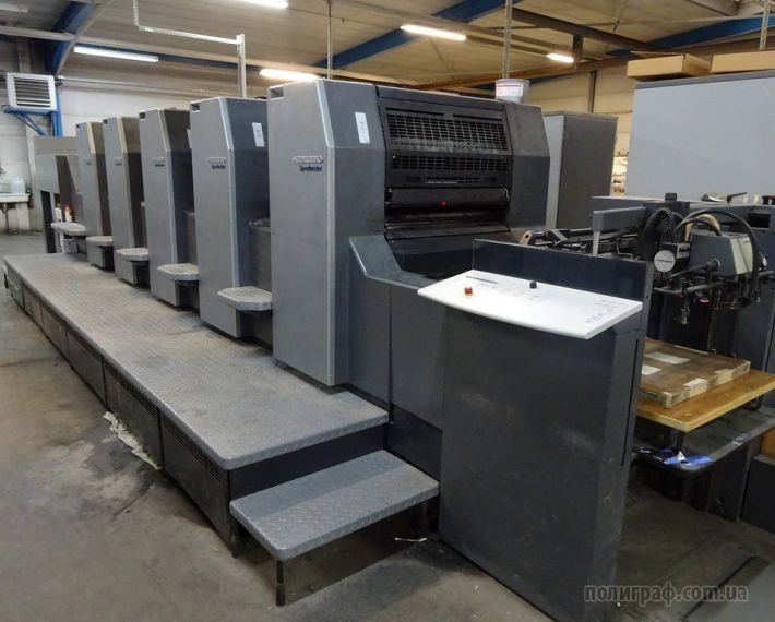 Sale, Heidelberg SM74-5-H, Year 2004